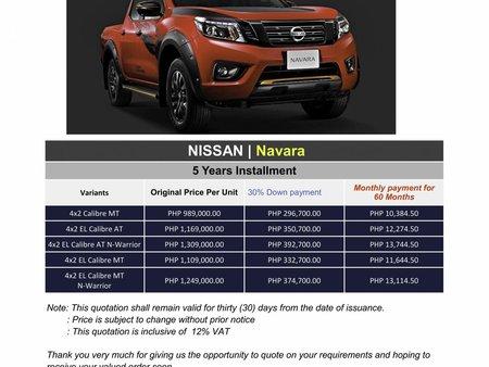2020 Nissan NAVARA (We cater all Brands)