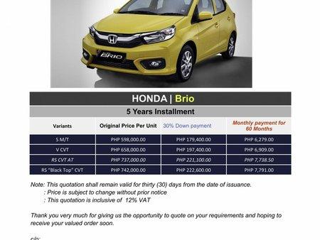 2020 Honda BRIO (We cater all Brands)