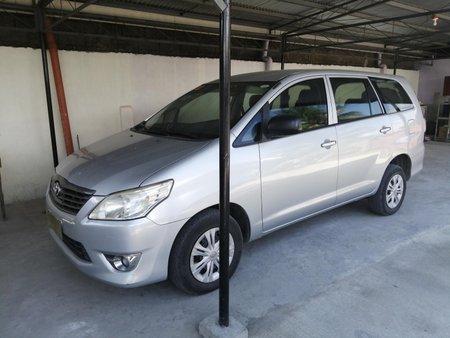 Silver 2013 Toyota Innova Manual in Sultan Kudarat