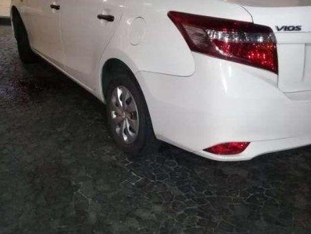 Toyota Vios 2015 Manual White GrabCar Pangkabuhayan w/PA for sale 450,000 neg