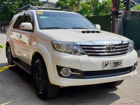 2015 Toyota Fortuner G Diesel Manual