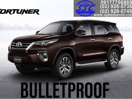 Brand New 2020 Toyota Fortuner V Bulletproof Level 6 (Top of the Line Trim)
