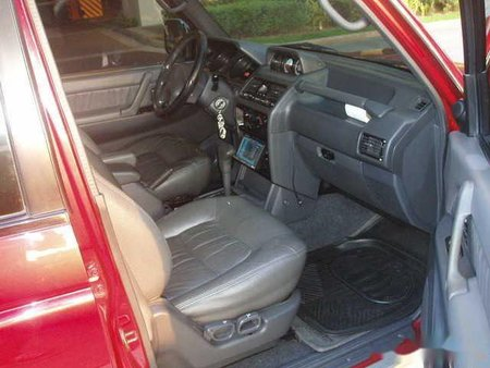 Red Mitsubishi Pajero 2004 SUV / MPV for sale in Dasmariñas