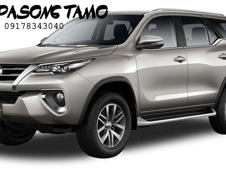 LOW DP BA HANAP MO? BRAND NEW TOYOTA FORTUNER 4X2G DSL AT