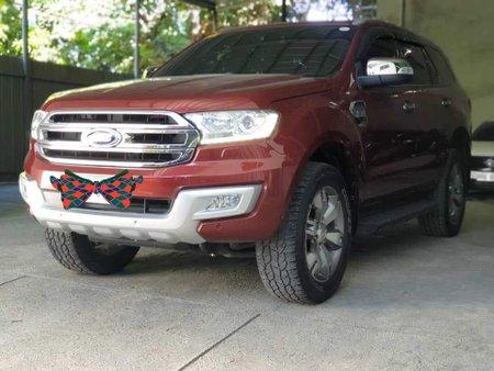 2017 Ford Everest Titanium plus