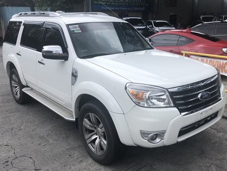 2012 Ford Everest 4x2 AT