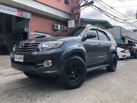 2015 Toyota Fortuner G AT