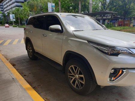 2018 Toyota Fortuner V Pearl White