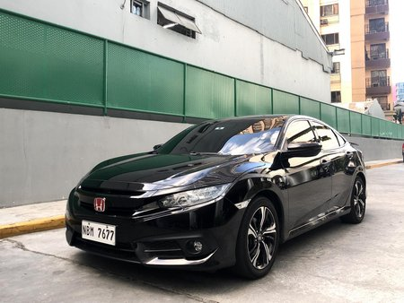 MIDNIGHT BURGUNDY 2018 ACQUIRED HONDA CIVIC RS TURBO AT GOOD PRICE For Sale at Eastwood Qc