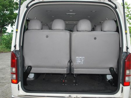 Sell White 2016 Toyota Hiace Van in Manila