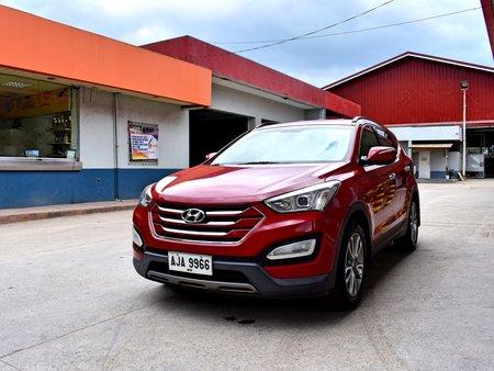 2015 Hyundai Santa Fe CRDI AT 748t Nego Batangas Area