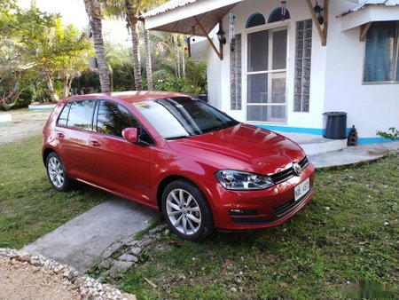 Sell Red 2016 Volkswagen Golf Hatchback in Dumaguete