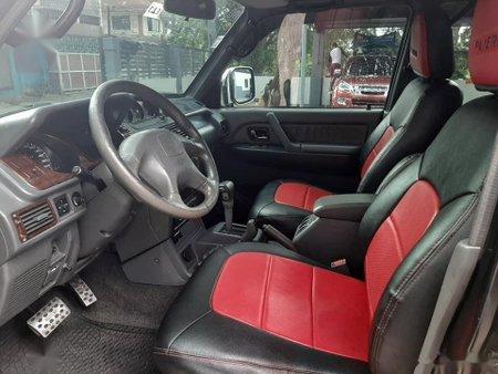 Black Mitsubishi Pajero 2004 SUV / MPV at Automatic  for sale in Manila
