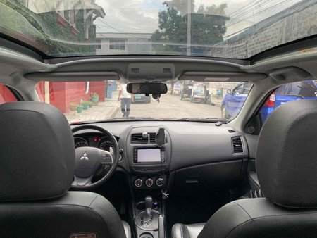 Selling Red Mitsubishi Asx 2015 SUV / MPV in Manila