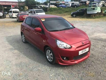 2017 Mitsubishi Mirage GLX Hatchback AT