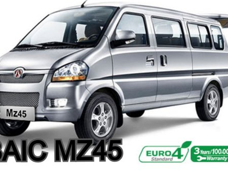 2018 BAIC MZ45 Transporter Van (Bought 2019)