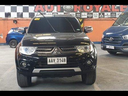 Black Mitsubishi Montero sport 2014 for sale in Quezon City