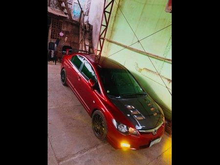 Selling Red Honda Civic 2006 Sedan in Tagum