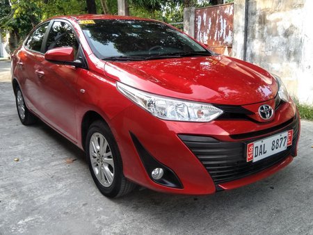 Toyota Vios E 2019 Automatic not 2018 2017