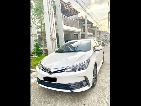 Sell White 2018 Toyota Corolla Altis in Quezon City