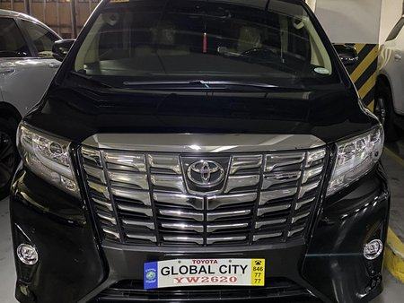 2016 Toyota Alphard Black 7000+ kms only