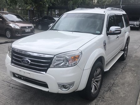 2012 Ford Everest 4x2