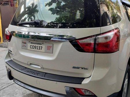 Selling Pearl White Isuzu Mu-X 2016 in Quezon City
