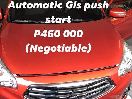 MITSUBISHI MIRAGE 2018 GLS AUTOMATIC ORANGE (MANILA)