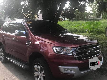 2016 FORD EVEREST 4x4