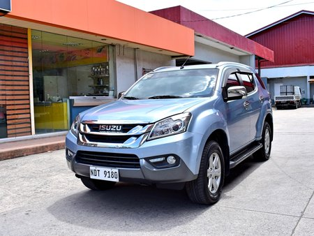 Isuzu MUX LSA 3.0 2016 AT 968t Nego Batangas area Auto