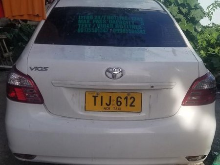 White Toyota Vios for sale in Taguig