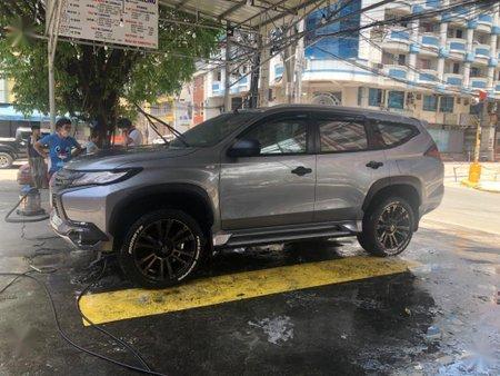 Silver Mitsubishi Pajero for sale in Manila