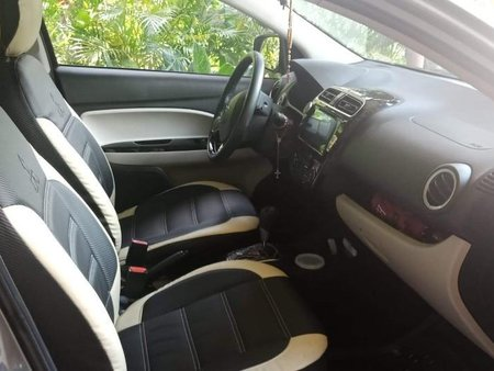 Silver Mitsubishi Mirage g4 for sale in Caloocan