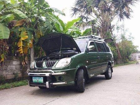 Green Mitsubishi Adventure 2006 for sale in Manila