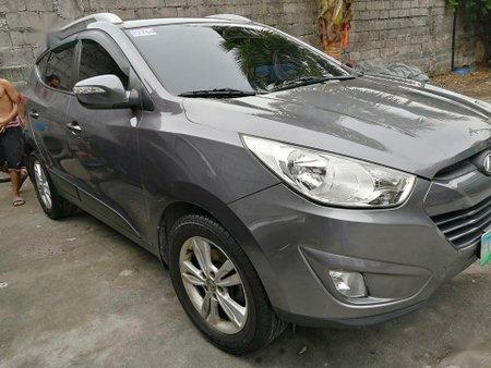 Grey Hyundai Tucson for sale in Manila