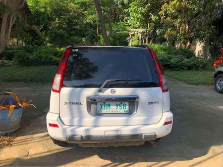 White Nissan X-Trail for sale in Pasig city