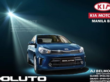 Sell Blue Kia Soluto for sale in Pasay