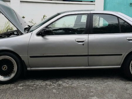 Silver Nissan Sentra for sale in Quezon City