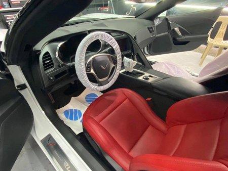 White Chevrolet Corvette for sale in Pasig City