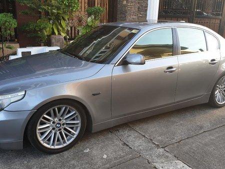 Silver Bmw 550I 2010 for sale in Manila