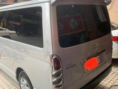 Silver Toyota Hiace for sale in Manila