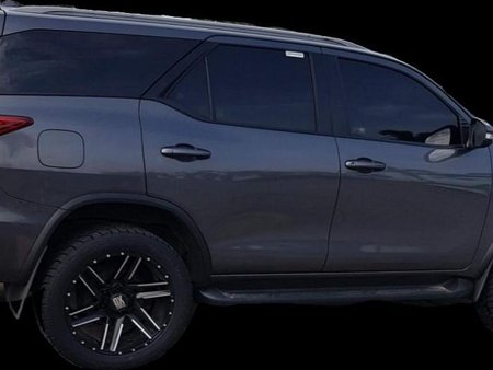 Grey Toyota Fortuner for sale in Angeles City