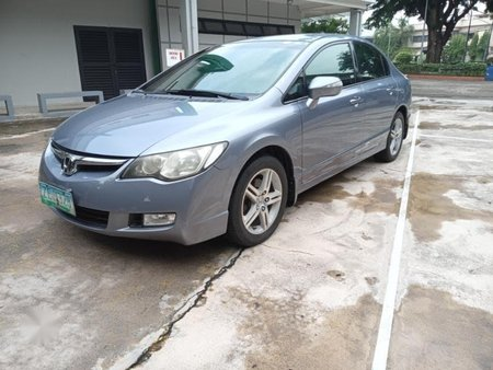 Siver Honda Civic for sale in Quezon City