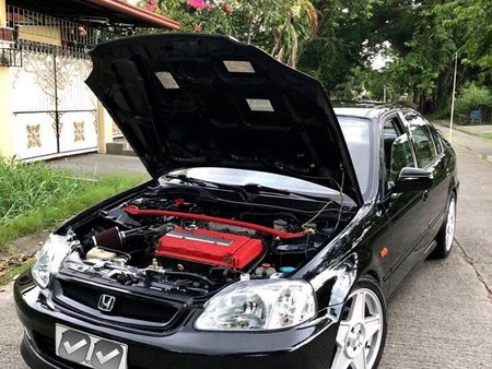 Black Honda Civic 1998 Wagon (Estate) for sale in Manila