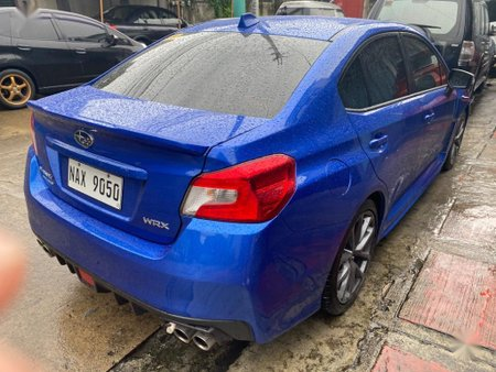 Blue Subaru Wrx 2018 for sale in Manila