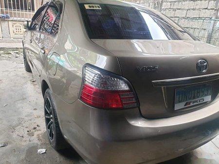 Beige Toyota Vios 2013 for sale in Manila