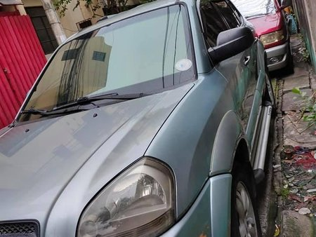 Selling Siver Hyundai Tucson 2008 in Manila