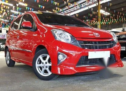 Selling Red Toyota Wigo in Manila