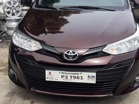 Purple Toyota Vios for sale in Quezon city