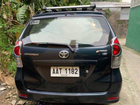 Black Toyota Avanza for sale in Quezon City